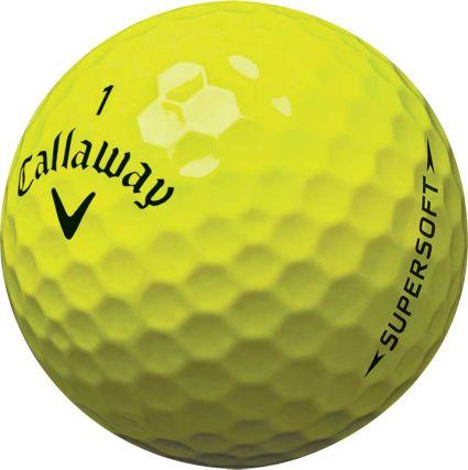 Callaway 2017 Supersoft Yellow Golf Balls