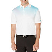 Callaway Men's Diagonal Gradient Printed Golf Polo