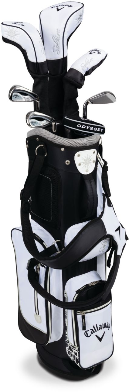 Callaway Women's Solaire 16 8-Piece Complete Set - Black
