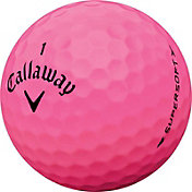 Callaway 2017 Supersoft Pink Golf Balls