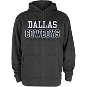 Dallas Cowboys Merchandising Men's Charcoal Practice Hoodie