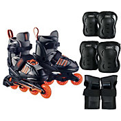 DBX Boys' Equinox Adjustable Inline Skate Package