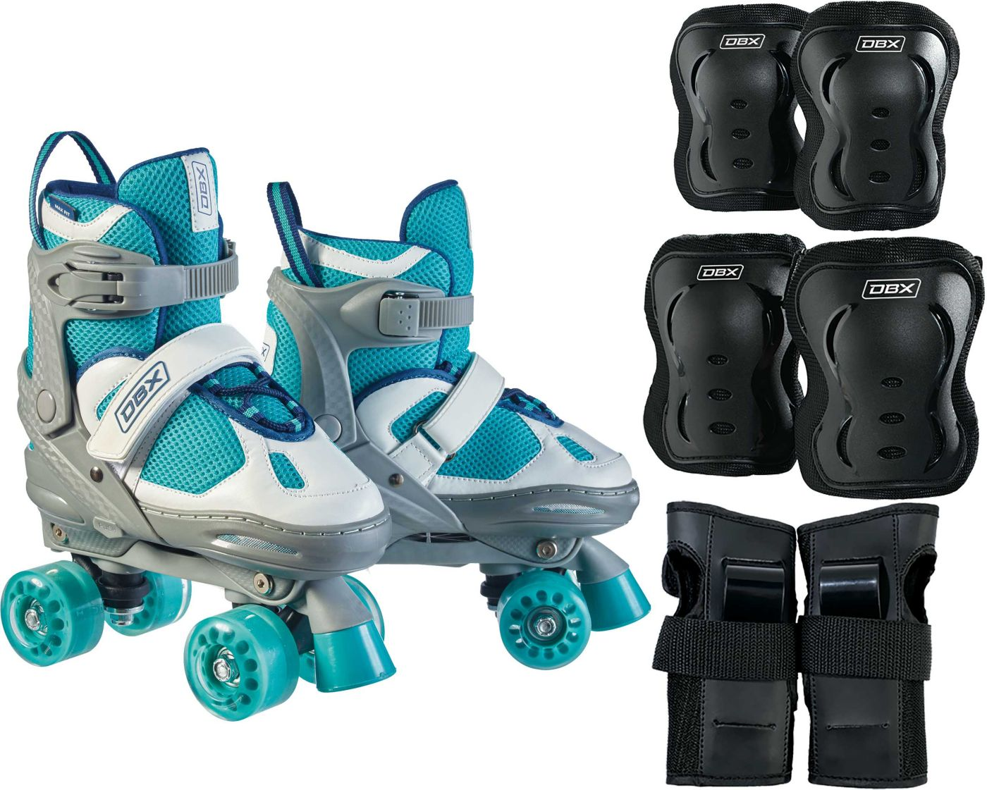 DBX Girls' Express Adjustable Roller Skate Package