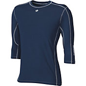 DeMarini Boys' CoMotion Mid-Sleeve Baseball Shirt