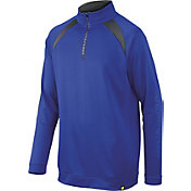 DeMarini Boys' Heater Fleece Baseball Half-Zip