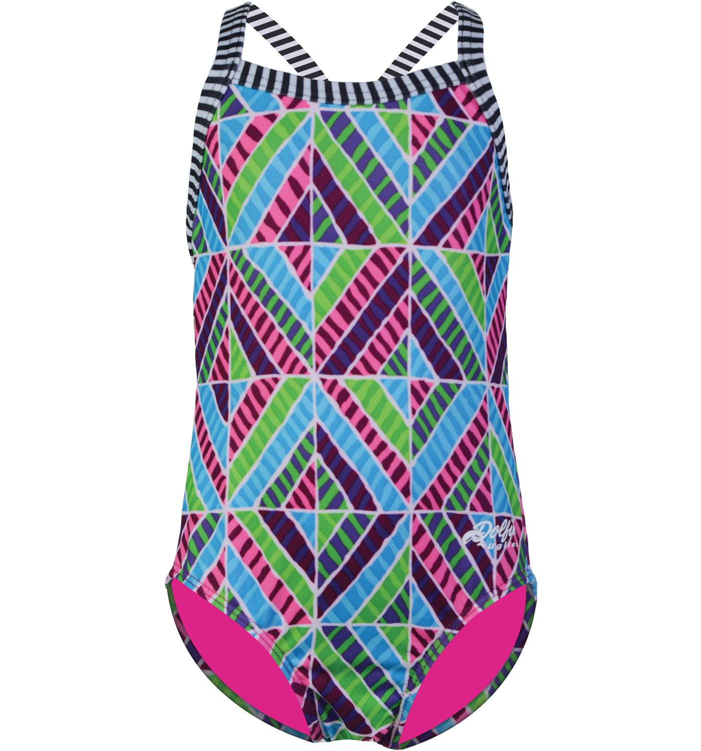Dolfin Uglies Girls' Toddler Quinta Swimsuit