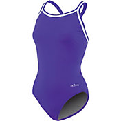Dolfin Women's Solid DBX Back Swimsuit