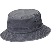 Dorfman Pacific Men's Pigment Dyed Twill Bucket Hat