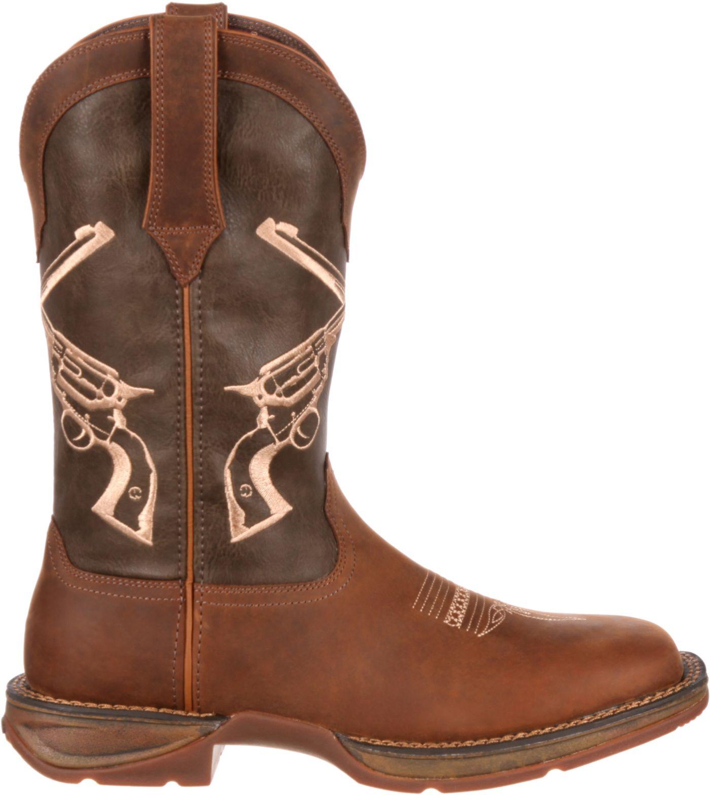 Durango Men's Rebel Faded Union Flag Western Boots
