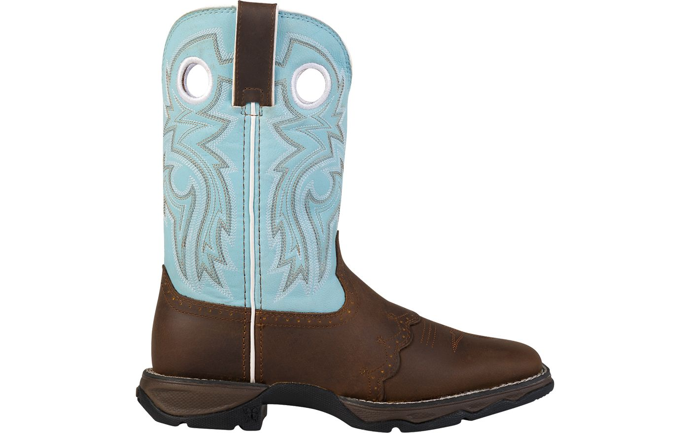 Durango Women's Lady Rebel Powder n' Lace Western Work Boots