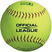 DICK'S Sporting Goods 11'' Practice Softballs – 6 Pack