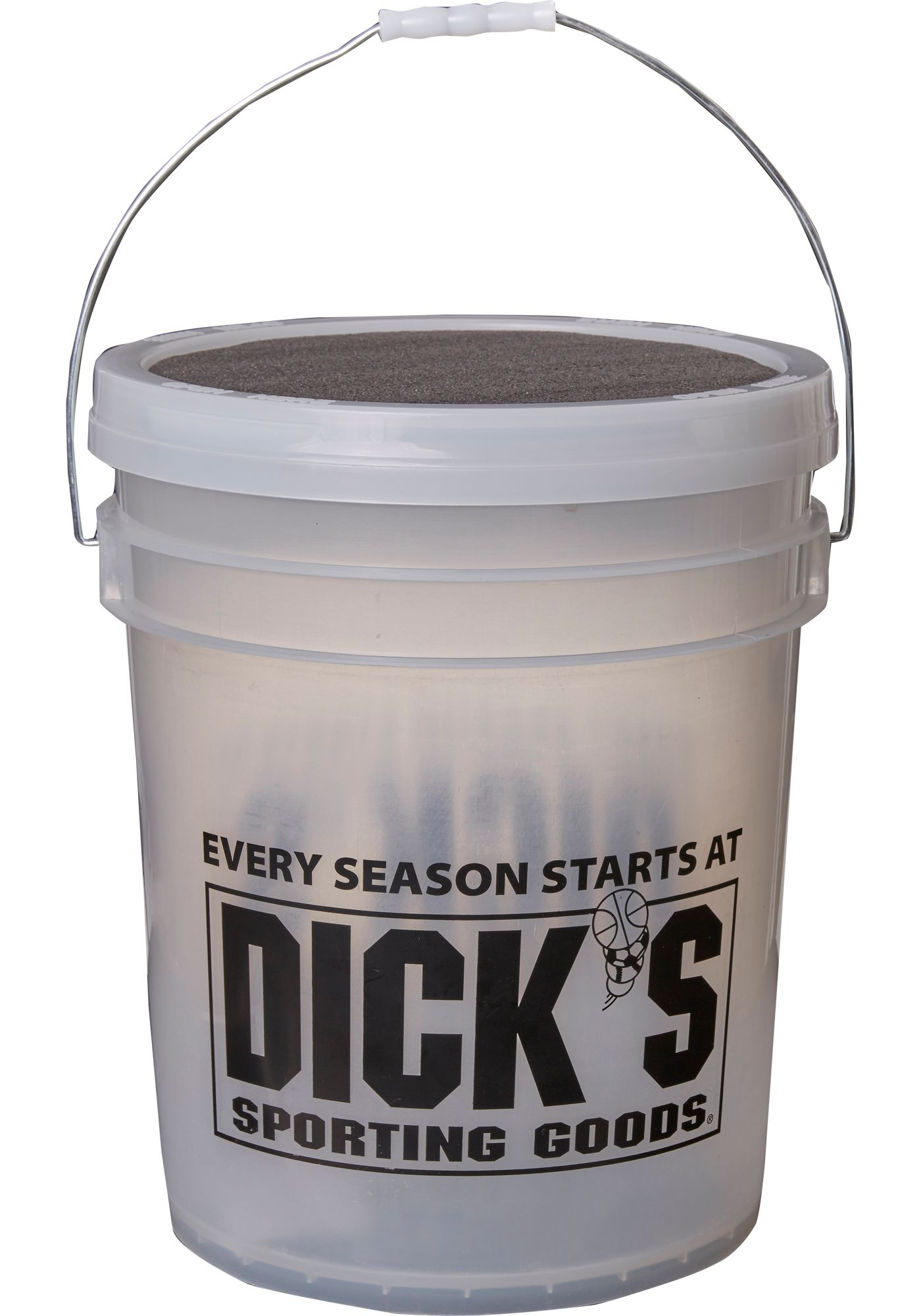 DICK'S Sporting Goods Bucket of 12'' Softballs - Dozen