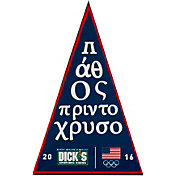 Team USA 2016 Olympic Games Greek Language Pennant Pin