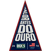 Team USA 2016 Olympic Games Portuguese Language Pennant Pin