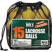 DICK'S Sporting Goods 15 Pack Lacrosse Balls