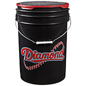 Diamond D-OB Official League Practice Bucket of 30 Baseballs