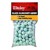 "Daisy .5"" Glass Slingshot Ammo - 75 Count"
