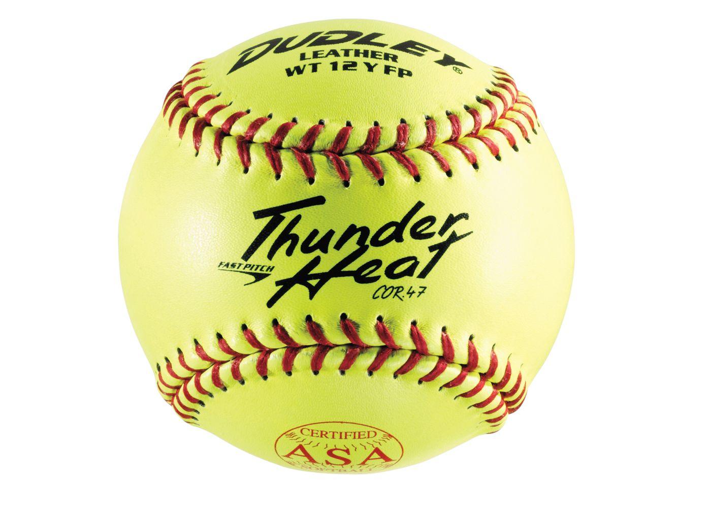 "Dudley 12"" ASA Thunder Heat Fastpitch Softball"
