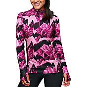 Duofold Women's THERMatrix Printed Quarter Zip Pullover