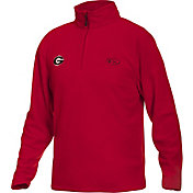 Drake Waterfowl Men's Georgia Camp Fleece Quarter Zip Pullover