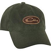 Drake Waterfowl Men's Waxed Cotton Logo Hat