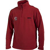 Drake Waterfowl Men's South Carolina Camp Fleece Quarter Zip Pullover