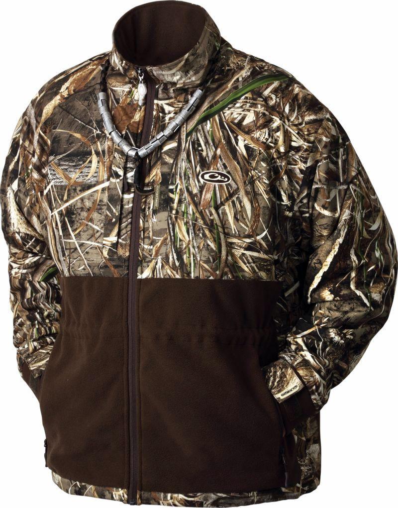 Plus Size Drake Waterfowl Men's MST Eqwader Plus Full Zip Jacket, Size: Large, Multi thumbnail