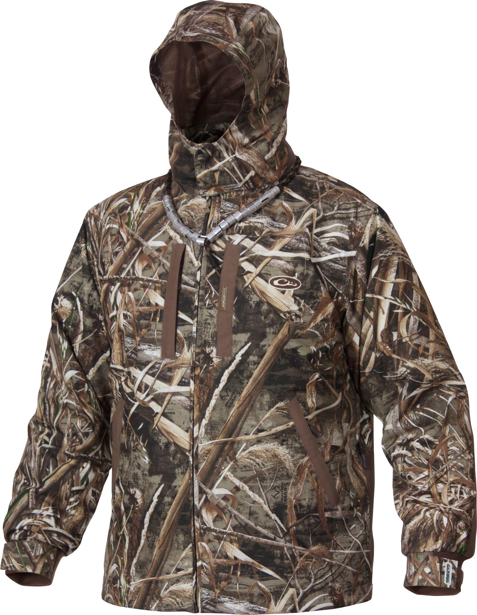 Drake Waterfowl EST Heat-Escape Full Zip Jacket, Men's, Small, Multi