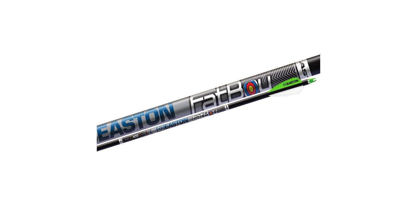 Easton Fatboy 400 Carbon Arrows – 6 Pack