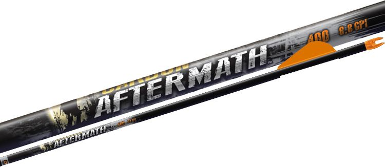 Easton Carbon Aftermath Arrows – 6 Pack, Size 400