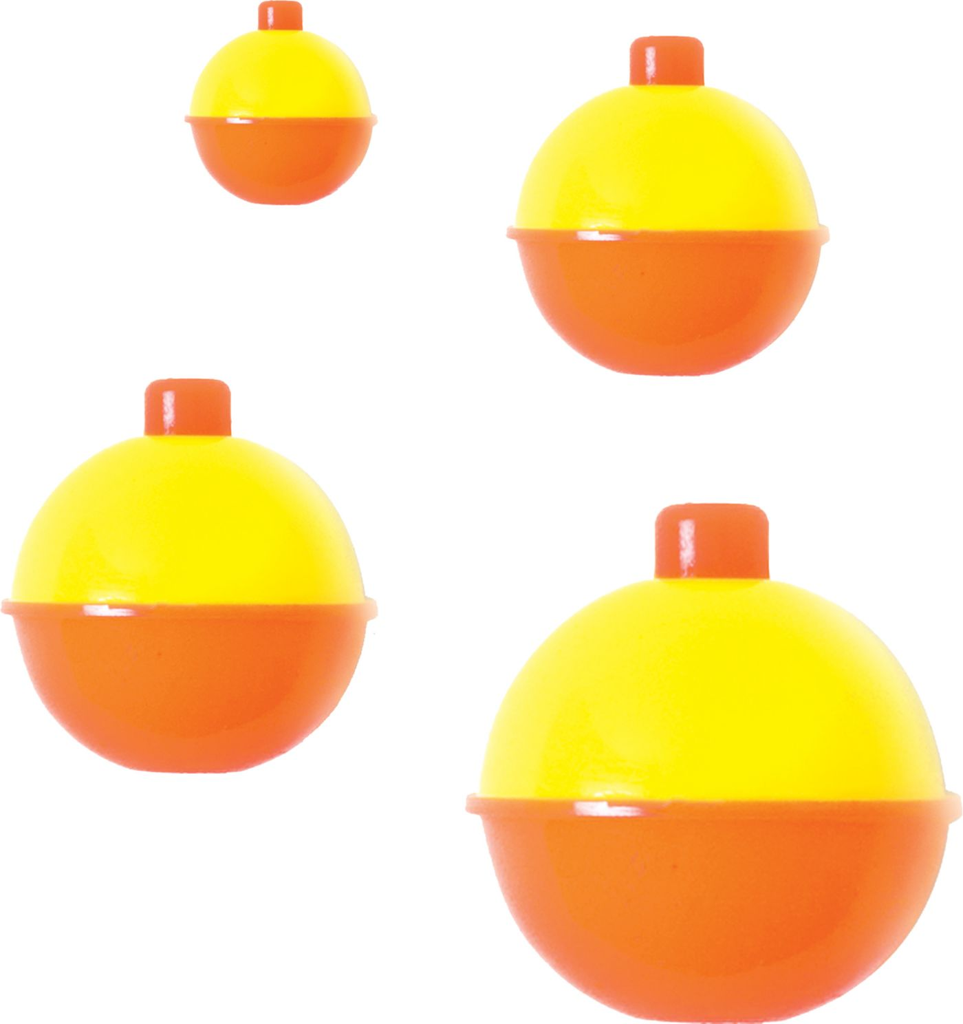 Eagle Claw Assorted Yellow/Orange Snap On Floats