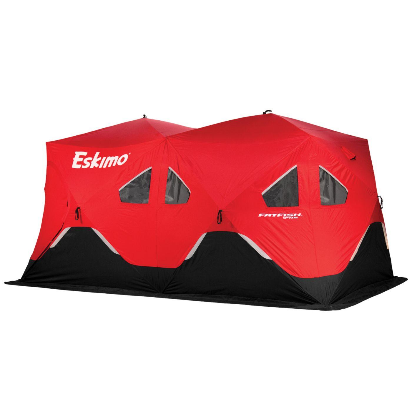 Eskimo FatFish 9416 9-Person Ice Fishing Shelter