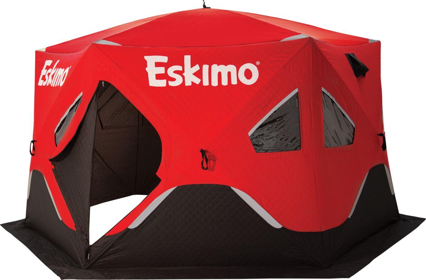 Eskimo FatFish 6120i Insulated 7 Person Ice Fishing Shelter