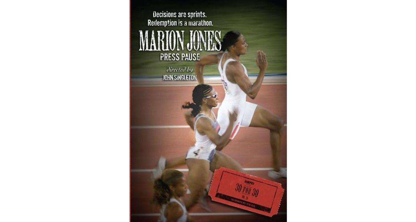 ESPN Films 30 for 30: Marion Jones: Press Pause DVD