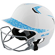 Easton Women's Z5 Two-Tone Fastpitch Batting Helmet w/ Facemask