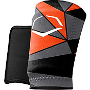 EvoShield Geo Batter's Wrist Guard in Orange/Black