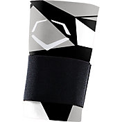 EvoShield Geo Batter's Wrist Guard w/ Strap in Black/White
