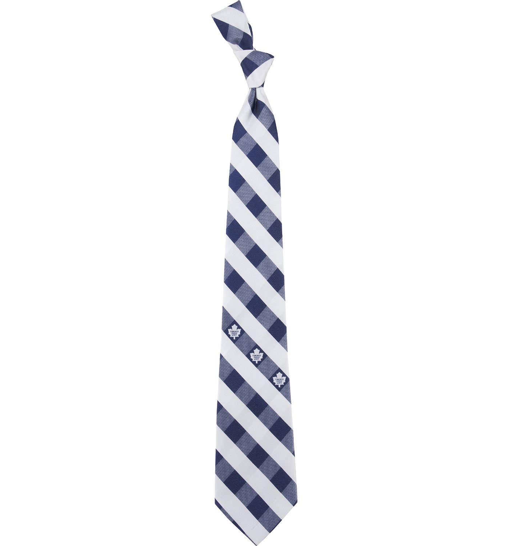 Eagles Wings Toronto Maple Leafs Check Necktie