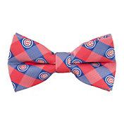 Eagles Wings Chicago Cubs Checkered Bow Tie