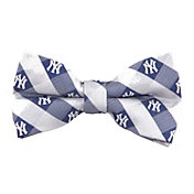 Eagles Wings New York Yankees Checkered Bow Tie