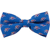 Eagles Wings Oklahoma City Thunder Repeating Logos Bow Tie