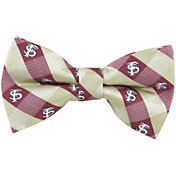 Eagles Wings Florida State Seminoles Checkered Bow Tie