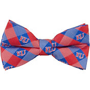 Eagles Wings Kansas Jayhawks Checkered Bow Tie