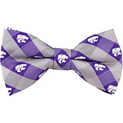 Eagles Wings Kansas State Wildcats Checkered Bow Tie