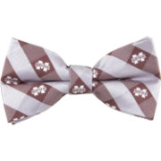Eagles Wings Mississippi State Bulldogs Checkered Bow Tie