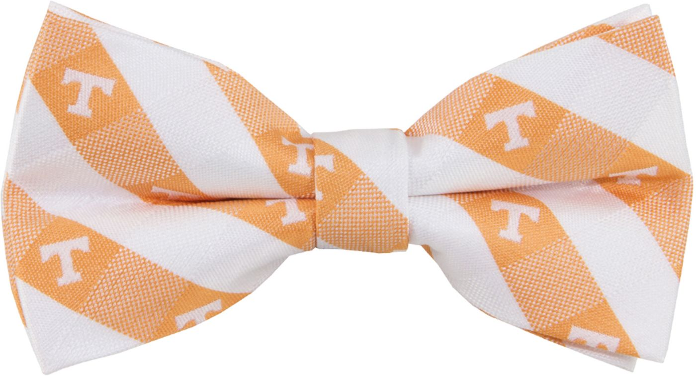 Eagles Wings Tennessee Volunteers Checkered Bow Tie