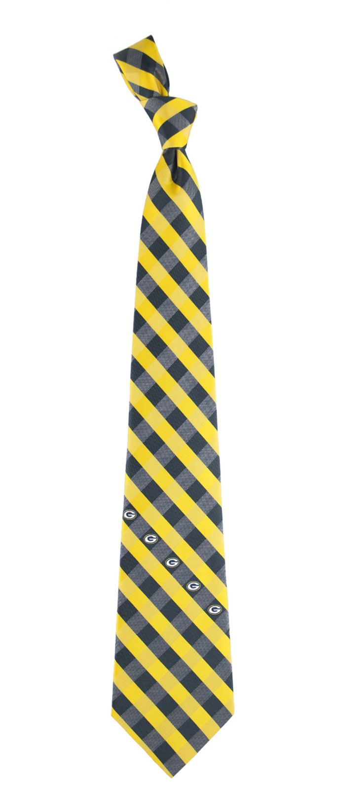 Eagles Wings Green Bay Packers Woven Polyester Tie