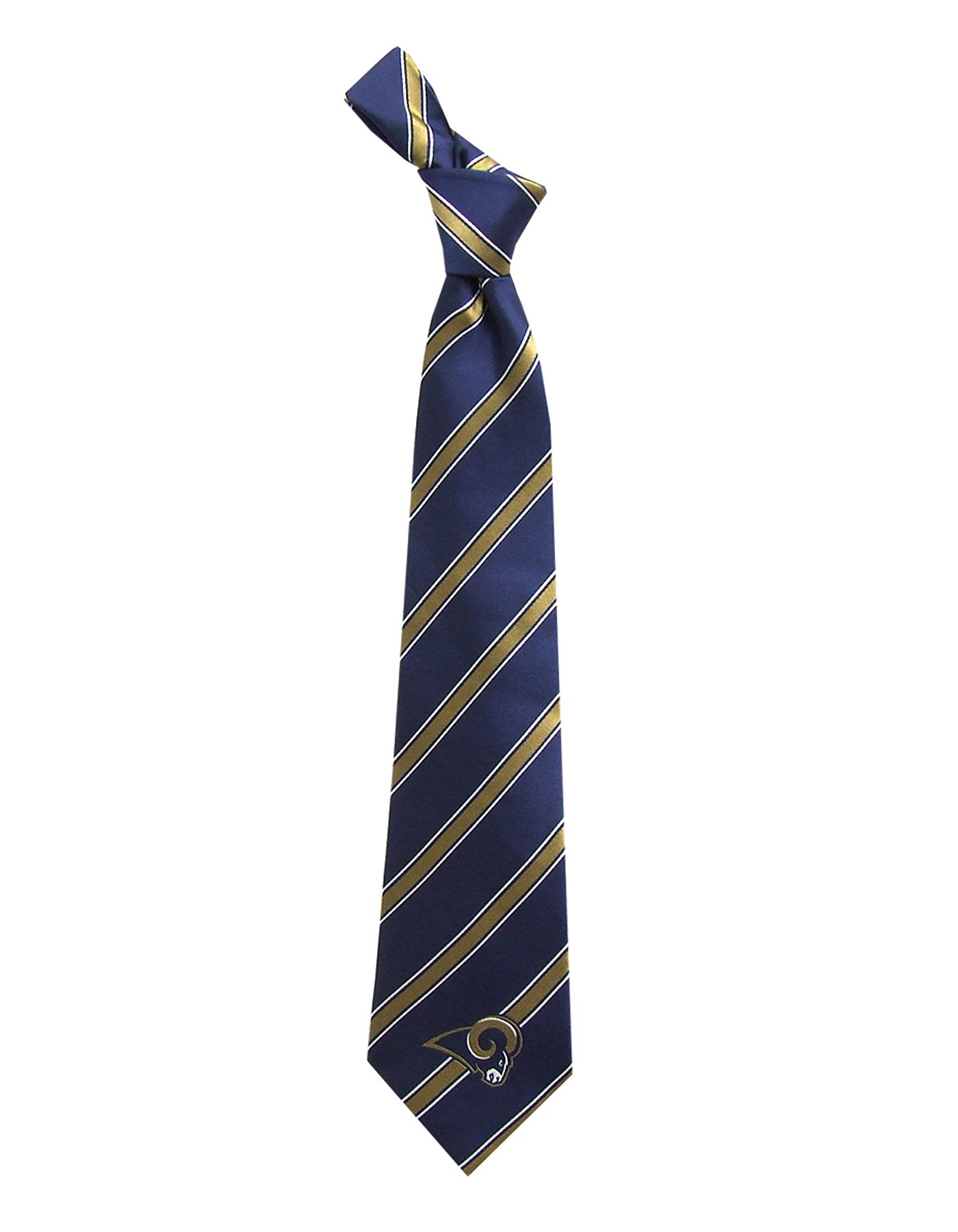 Eagles Wings Los Angeles Rams Striped Polyester Necktie
