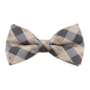 Eagles Wings New Orleans Saints Checkered Bow Tie