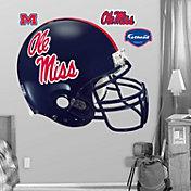 Fathead Ole Miss Rebels Football Helmet Wall Graphic